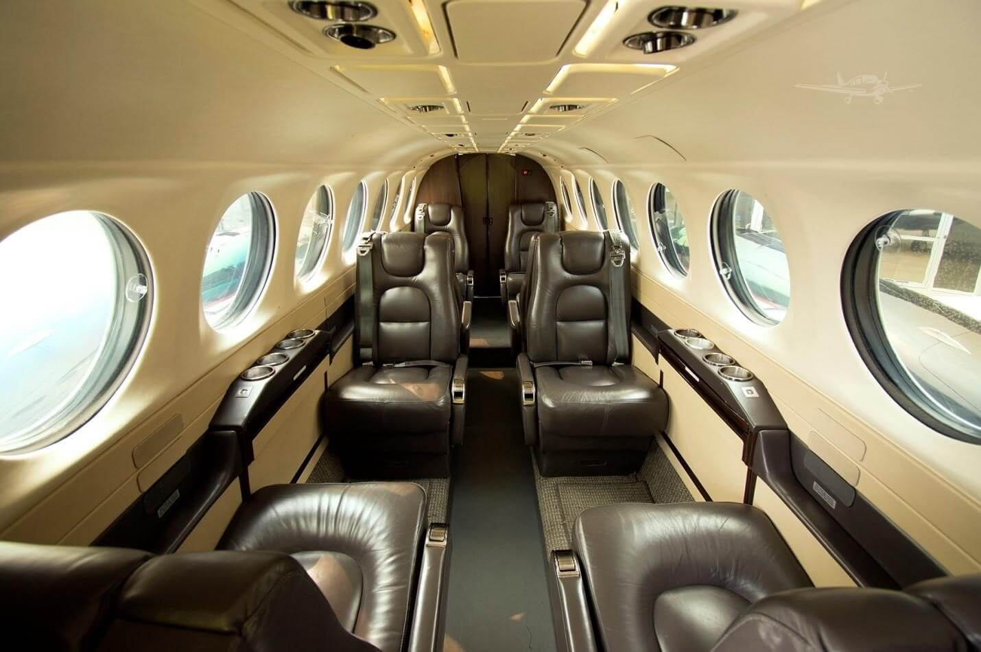Interior view of a Super King Aircraft 350